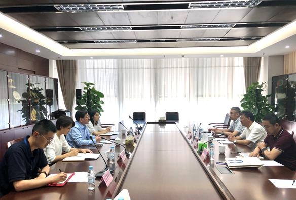 通化市金融工作办公室、吉林省股权交易所一行来访上海股交中心-上海朗荣投资致力于科创板挂牌融资上市